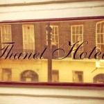 Thanet Hotel Door Plaque